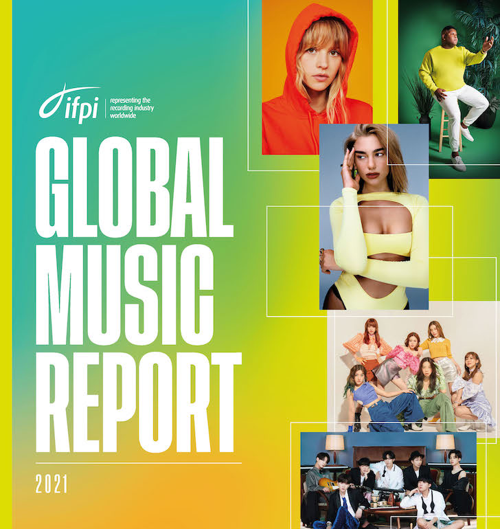 Global Music Report 2021 cover